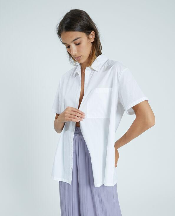 Oversized hemdje wit - Pimkie