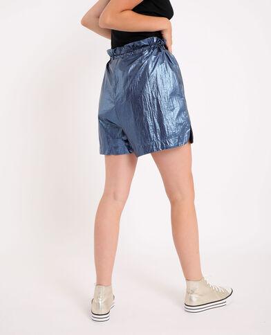 Sportieve short marineblauw