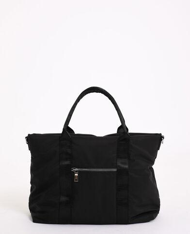 Grote, soepele tas zwart