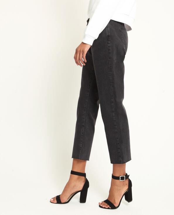 Rechte jeans zwart