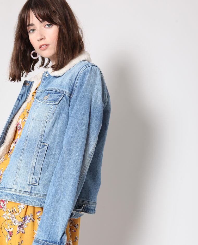 Veste en jean doublée