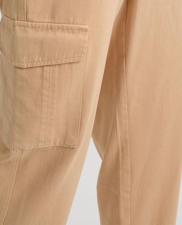 Pantalon cargo marron