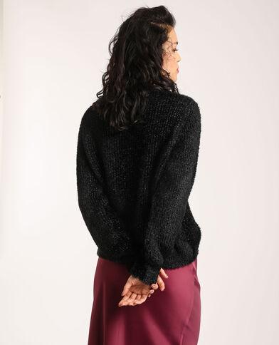 Pull fluffy noir