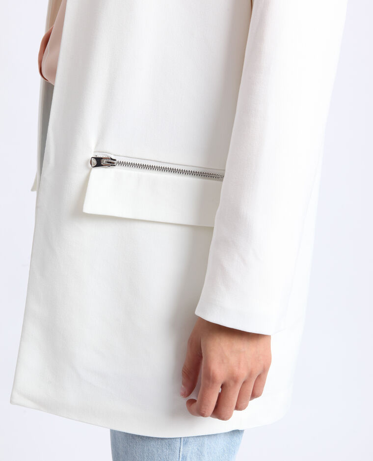 Manteau léger blanc