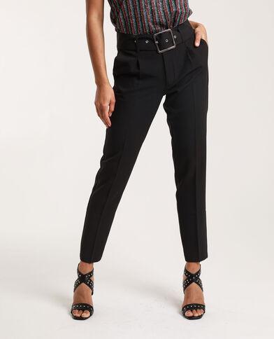 Pantalon city Stéphanie Durant x Pimkie noir