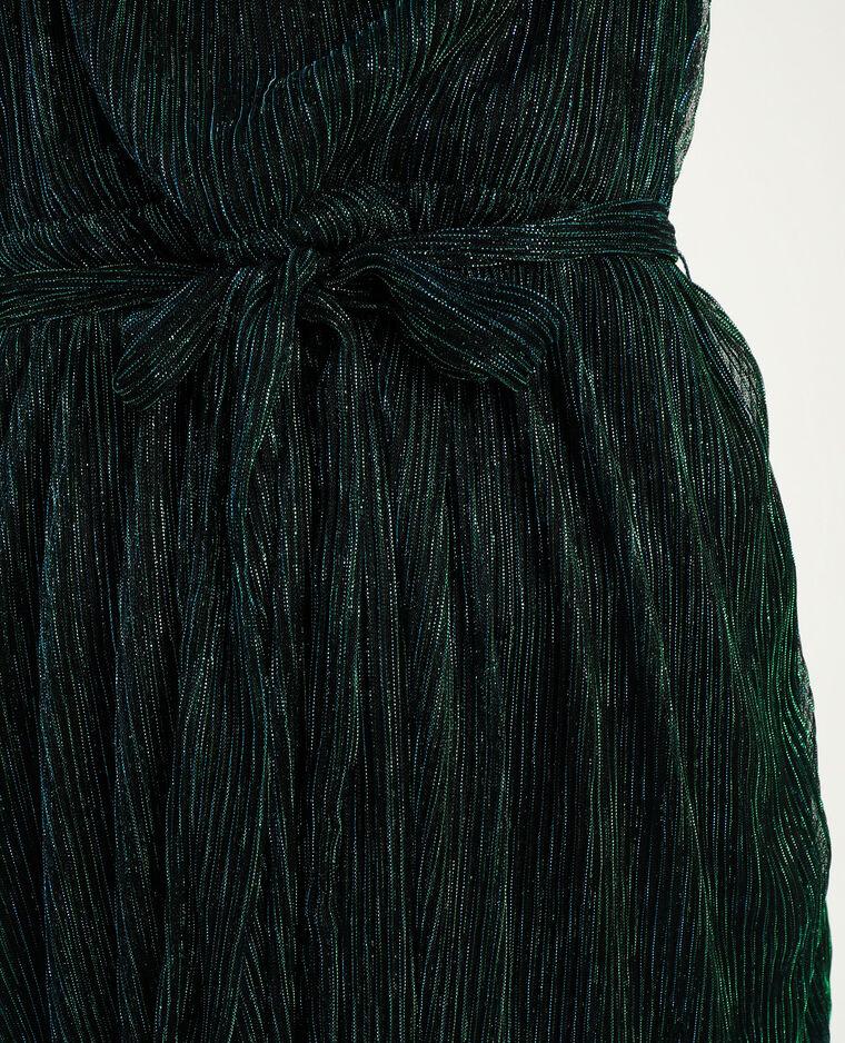 Robe lurex vert - Pimkie