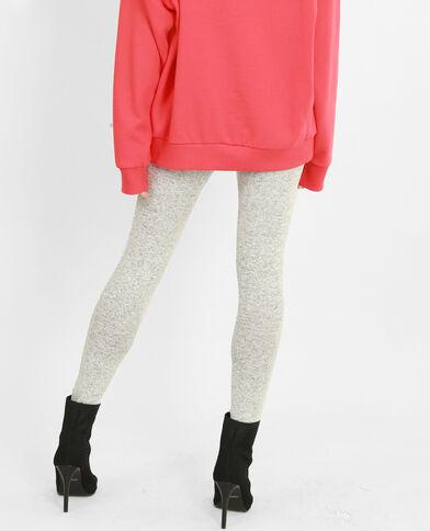 Legging en maille gris