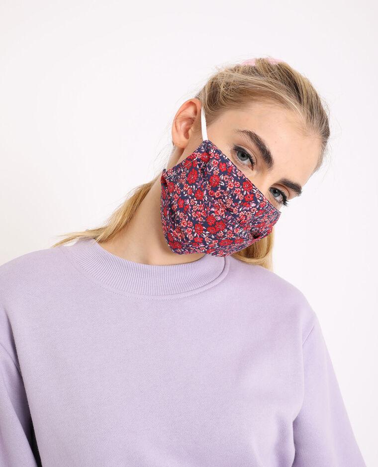Lot de 2 masques rouge