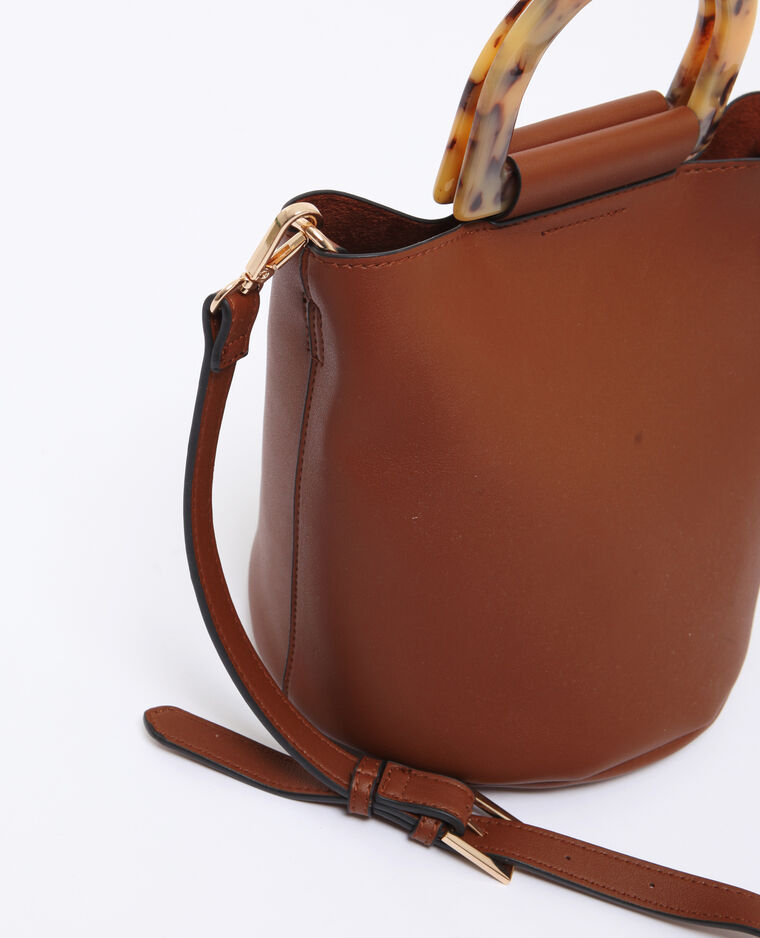 Sac seau marron
