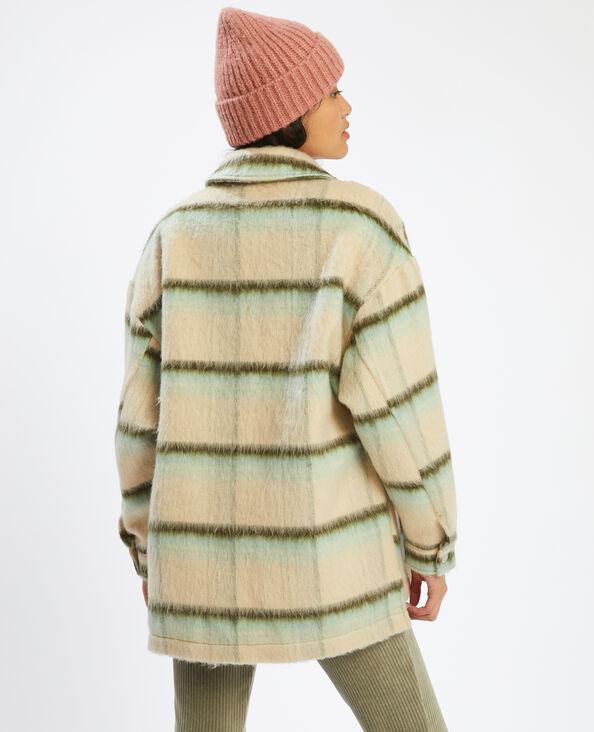 Oversized overhemd met ruitjes groen - Pimkie