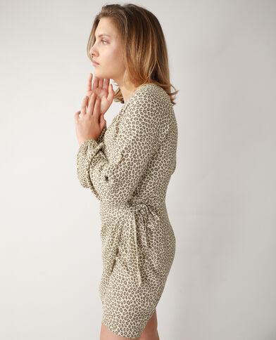Robe léopard beige - Pimkie