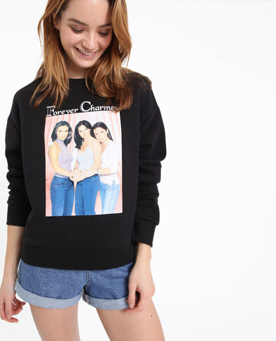 CHARMED sweater zwart