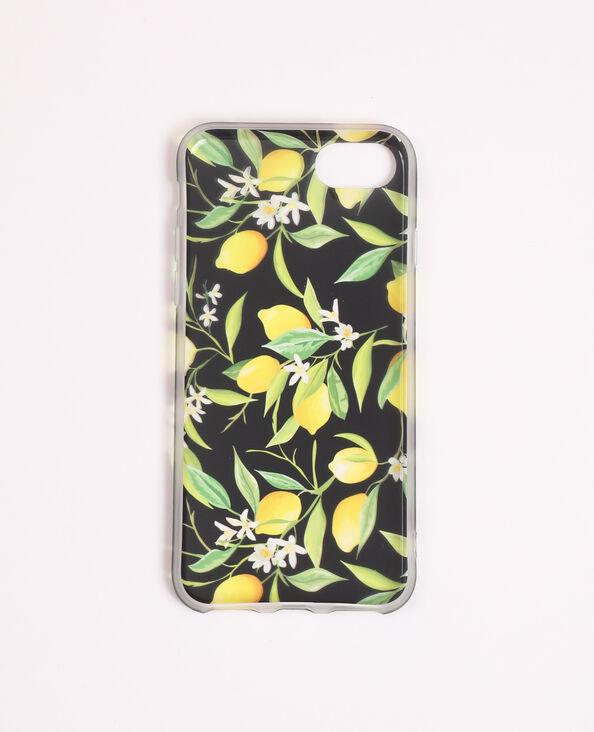 iPhone-hoesje met print geel