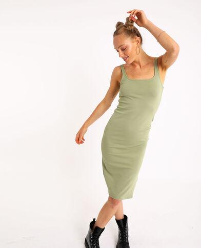 Robe bodycone kaki