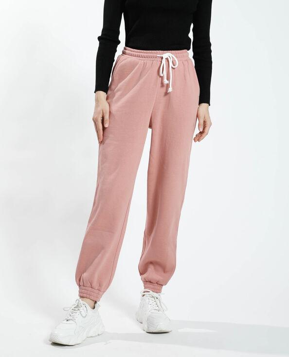 Jogging van molton oud roze - Pimkie