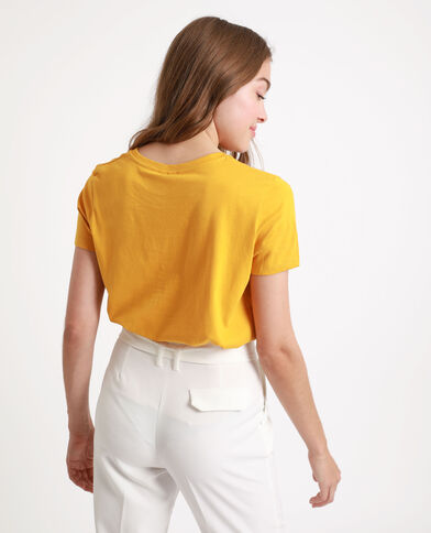 T-shirt Honey jaune