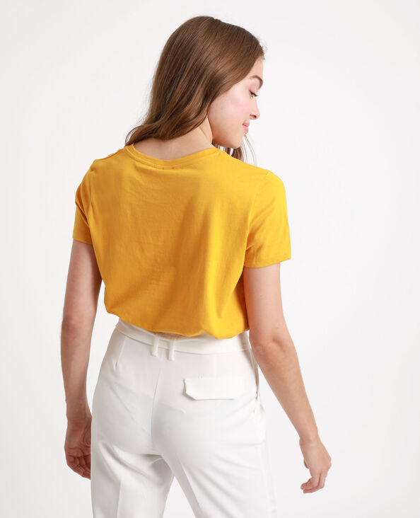 T-shirt Honey jaune