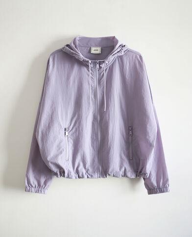 Windjack met kap violet - Pimkie