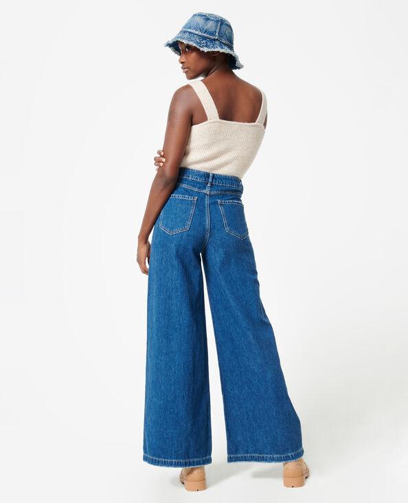Jeans met baggy denimblauw - Pimkie