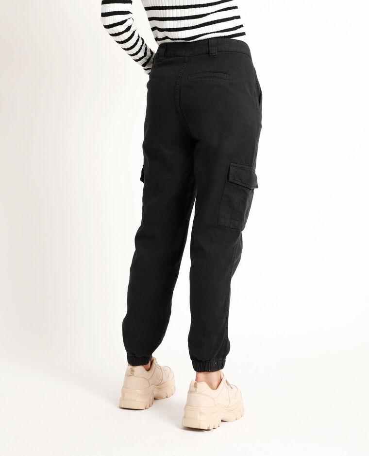 Pantalon cargo noir