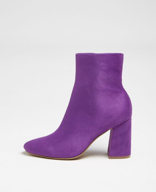 Boots nubuck violet