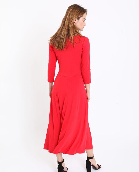 Lange jurk oranje