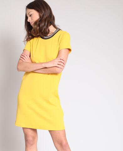 T-shirtjurk geel
