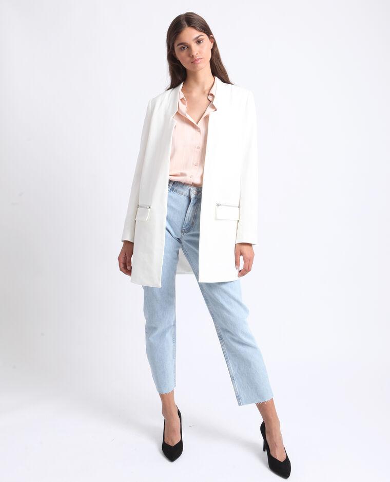 Lichte jas wit