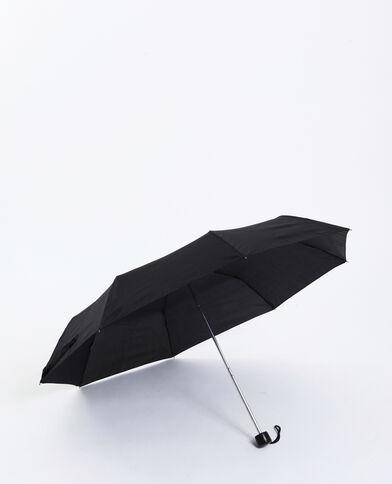 Uitschuifbare paraplu zwart - Pimkie