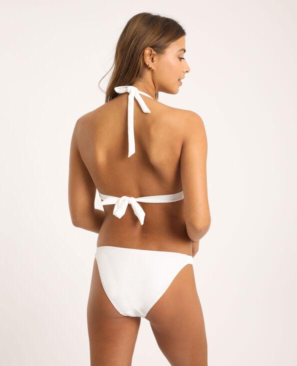 Gevlochten bikinislip wit - Pimkie