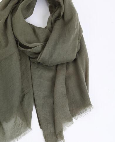 Lichte foulard groen
