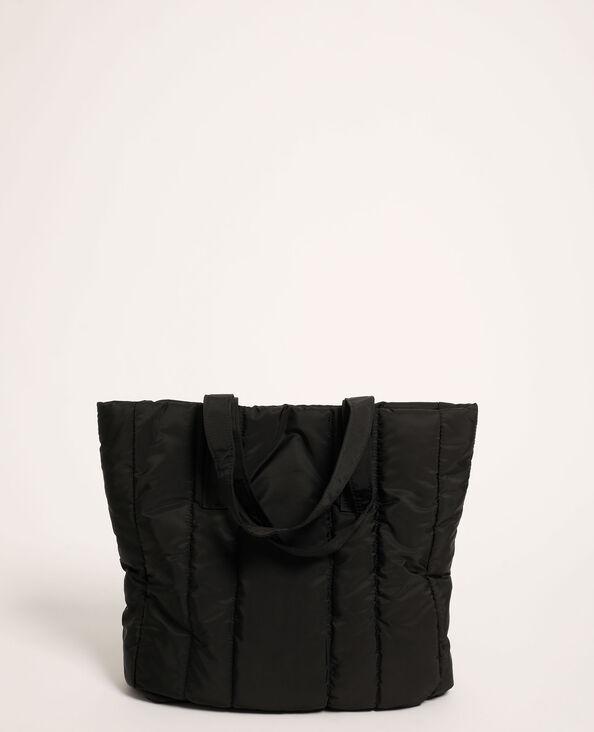 Gewatteerde shopper zwart - Pimkie