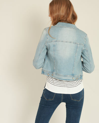 Jeansjasje blauw