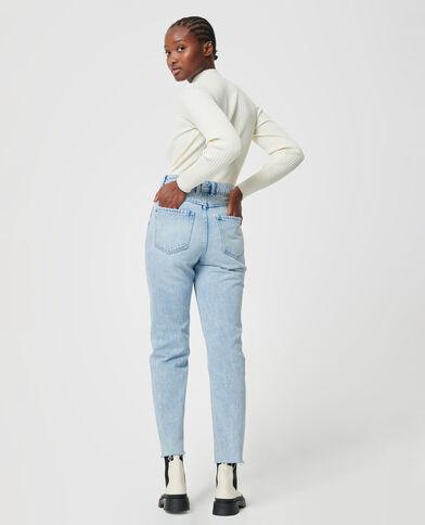 Jean taille haute bleu clair - Pimkie