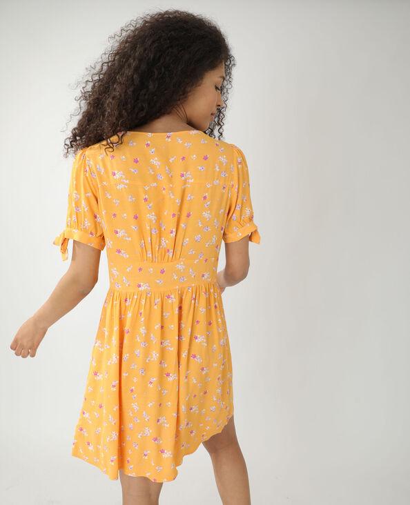 Bloemenjurk oranje - Pimkie