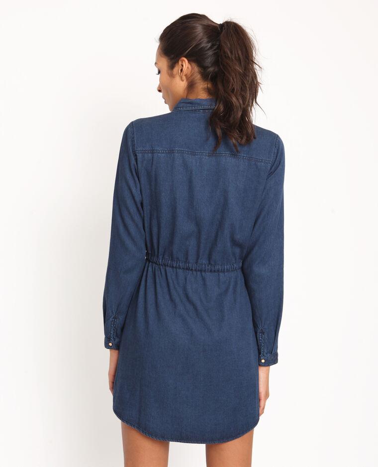 Robe En Jean Bleu Marine 780957626a06 Pimkie