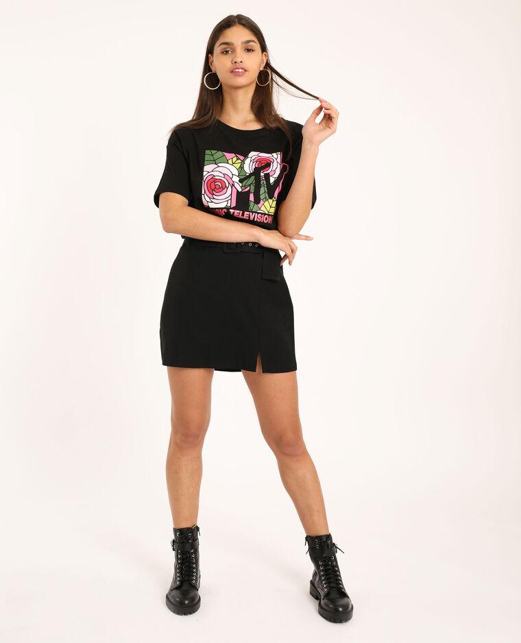 T-shirt MTV noir