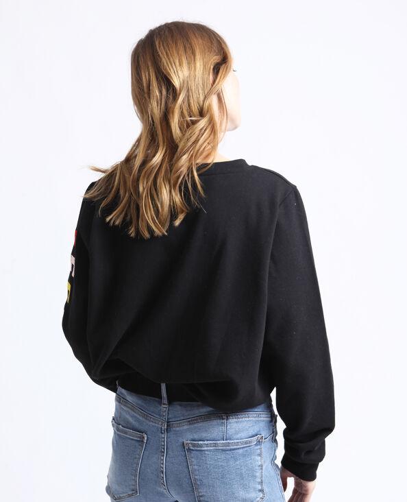 Feel Good sweater zwart
