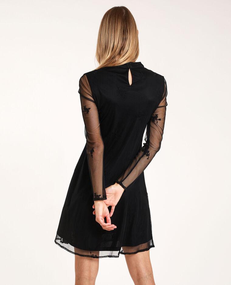 Robe à manches longues noir