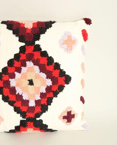 Meerkleurig XL-kussen rdzawy