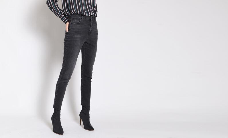 Slim fit jeans zwart