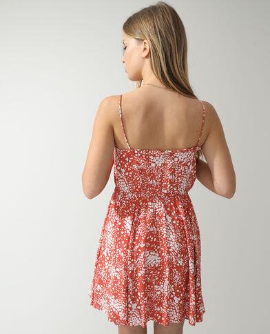 Originele jurk kastanjebruin - Pimkie