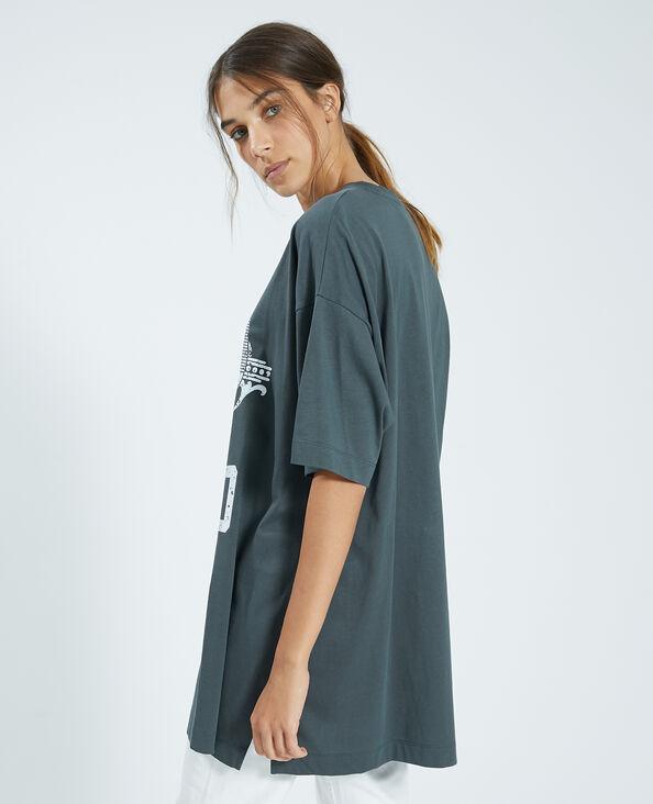 Oversized T-shirt grijs - Pimkie