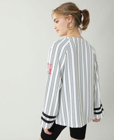 Chemise de baseball blanc - Pimkie