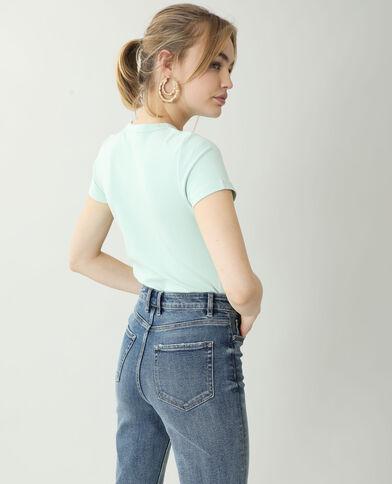 Basic T-shirt groen - Pimkie