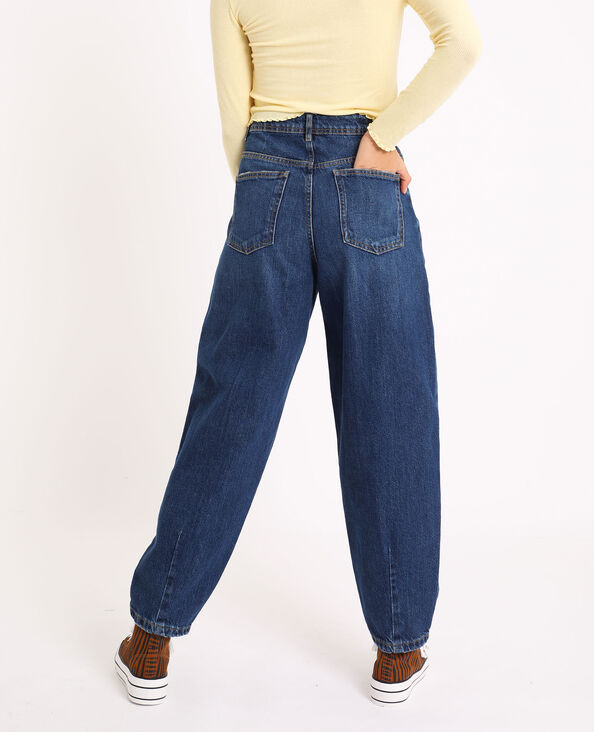 Slouchy jeans donkerblauw