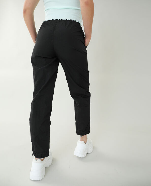 Winddichte broek zwart - Pimkie