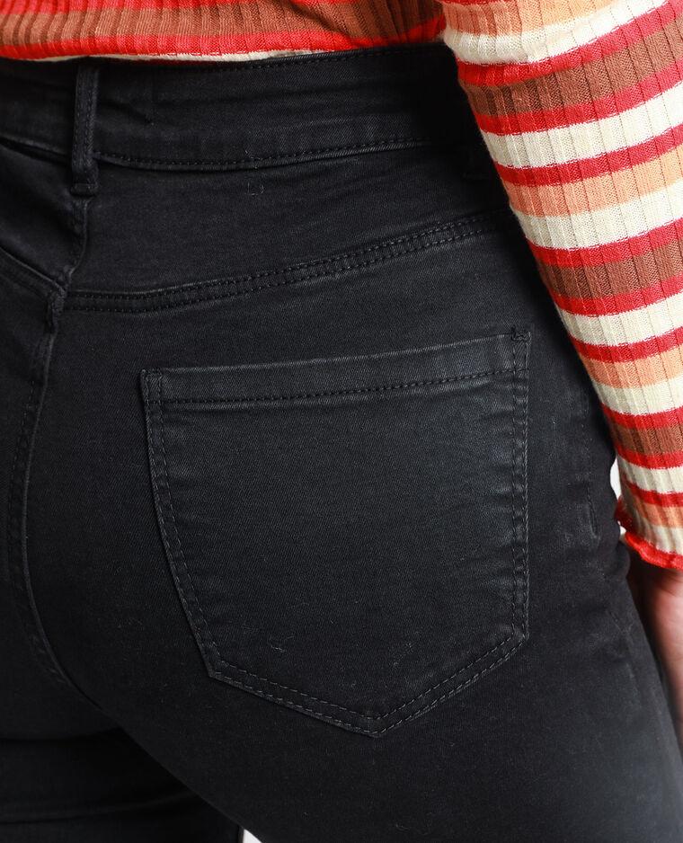 Jean push up mid waist gris usé