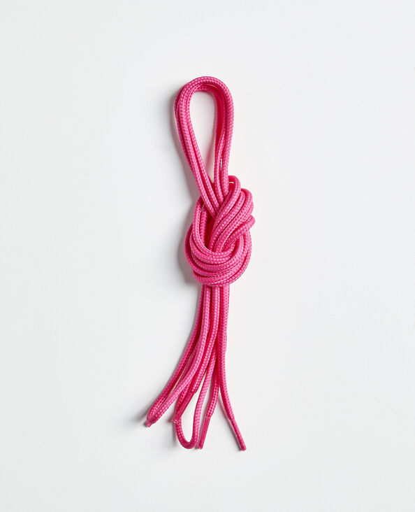 Lacets colorés rose