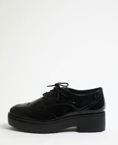 Derbies vernies noir